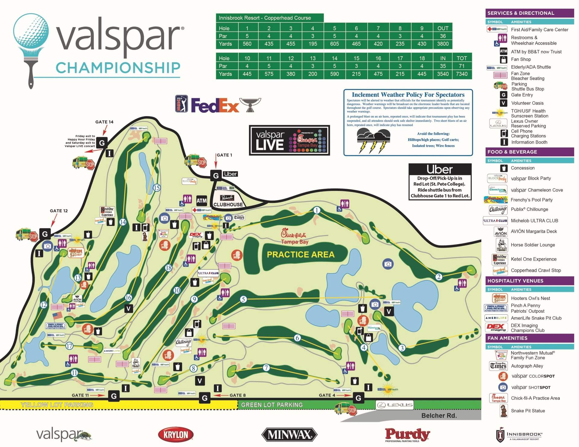 2020 Course Map